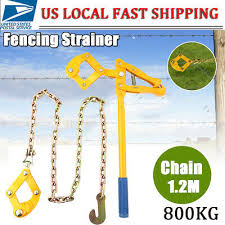 47 5 Chain Strainer Barn Farm Fence Stretcher Tensioner Repair Barbed Wire Tool Isp Paris