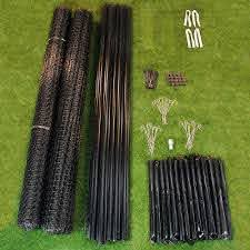 7 5 X 330 Deerbusters Deer Fence Kit Tenax C Flex Heavy Duty Ebay