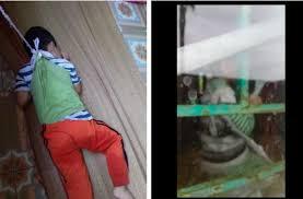 Phụ huynh chụp được ảnh bé trai 4 tuổi bị buộc dây vào người ở trường mẫu  giáo, giáo viên nói: Ai đó đã làm việc này để đổ oan chúng tôi