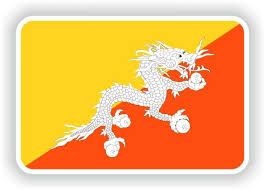 1x Sticker Bhutan Flag Bumper Decal Car Fridge Tablet Door Bike Book Skateboard For Sale Online Ebay