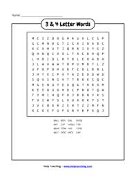 free printable word search worksheets