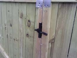 Wooden Double Gate Latch Renov8z