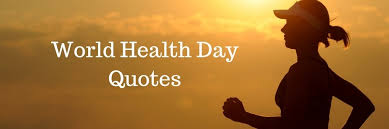 world health day quotes sayings in weds