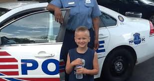 Fifth Police District Welcomes 6-Year-Old as Honorary Police Officer | mpdc
