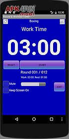 workout timer for android free