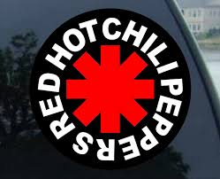 Amazon Com Red Hot Chili Peppers Vynil Car Sticker Decal 4 Arts Crafts Sewing