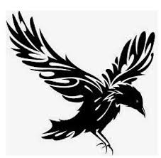 Raven Bird Tribal Vinyl Decal Sticker For Car Truck Bumper Wall Window Laptop Ebay