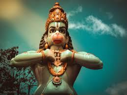wallpaper hanuman statue