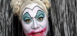 clown makeup look for halloween