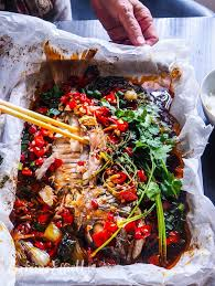 Spicy Paper Bag Chilli Snapper