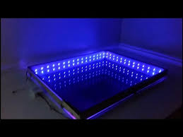 an led infinity illusion mirror