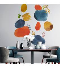 Abstract Mother Earth Wall Decal Living Room Order Online Pap