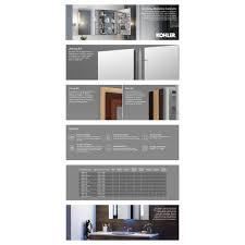 verdera aluminum medicine cabinet with