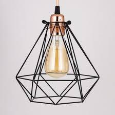 diamond vintage edison bulb cage
