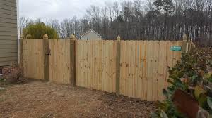 6 Ft Wood Dog Ear Privacy Fencing With Pamlico Fence Company Facebook