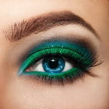 makeup with your eye color