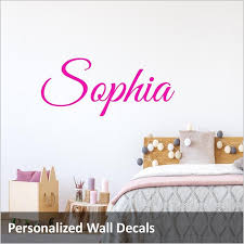 Custom Name Wall Decals Vinyl Wall Art Quotes And Prints