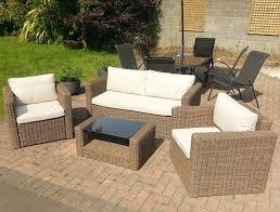 rattan garden furniture b q argos