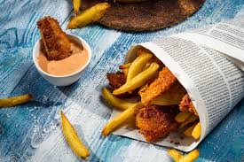 Fish and Chips With Tartar Sauce Recipe ...