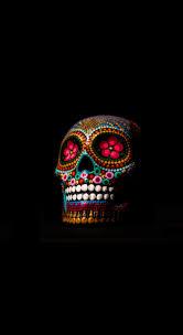 iphone 8 skull wallpaper kolpaper
