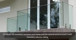 5 modern glass balcony railing design