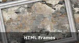 using html frames for page layout