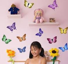 Beautiful Butterfly Wall Decals Butterfly Wall Sticker Appliques