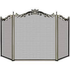 wrought iron fireplace screens com
