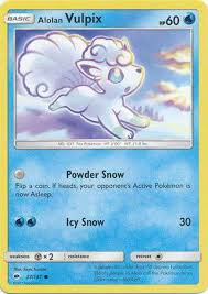 Pokemon Sun Moon Burning Shadows Single Card Common Alolan Vulpix ...