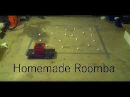 diy roomba vacuum robot