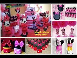 diy minnie mouse party ideas 30 ideas