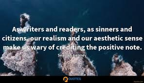 as writers and readers as sinners and citizens our realism