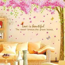 Pink Tree Wall Decals Ellaseal