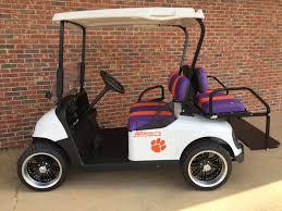 Custom Clemson Collegiate Golf Cart Golf Carts Golf Golf Car