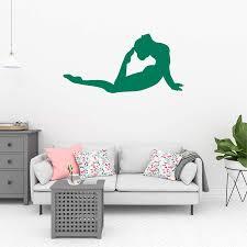 Amazon Com Gymnastics Wall Decals Multiple Sizes Girl Room Sport Mural Sport Decor For Girls Room Stitch Room Decor Sports Decals For Girls Sports Wall Paper For Girls Room Gymnastics Murals For Walls