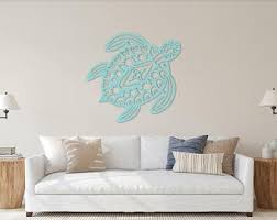 Sea Turtle Wall Art Etsy