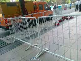 Rot Proof Security Temporary Metal Fencing Panels For Construction Site