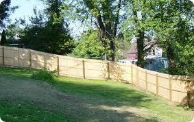 Stockade Fencing Wood Stockade Fences Frederick Fence