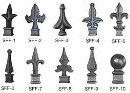 Steel Fence Brackets Hinges Finials