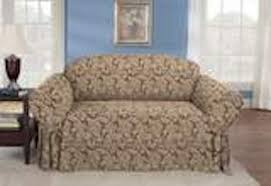 sofa dove gray ticking stripe one piece