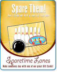 sparetime lanes gift cards