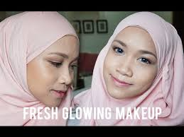 glowing makeup tutorial the face