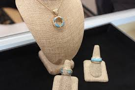 the turquoise enement ring that has