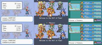 Mega Moemon FireRed : PokemonHallOfFame