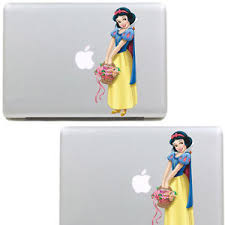 A Snow White Sticker For Apple Macbook Pro Air 13 Skin Decal Vinyl Cover Ebay