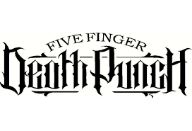 High Quality Five Finger Death Punch Vinyl Decal Window Or Bumper Sticker 5 Rock Roll Band Wish