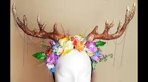 diy antler headdress you