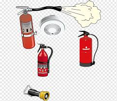 fire extinguisher icon red fire