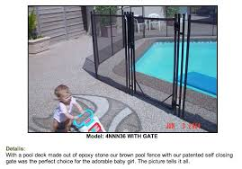 Child Pool Safety Is Top Concern For Guardian Pool Fence Their Patented Self Closing Gate Reduces Risk Of Accidental Death