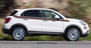 Fiat 500 X 2017 Graphics Kit Decals Gucci Edition Stickerbombing Eu